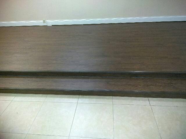 Church Stage In Vinyl Plank