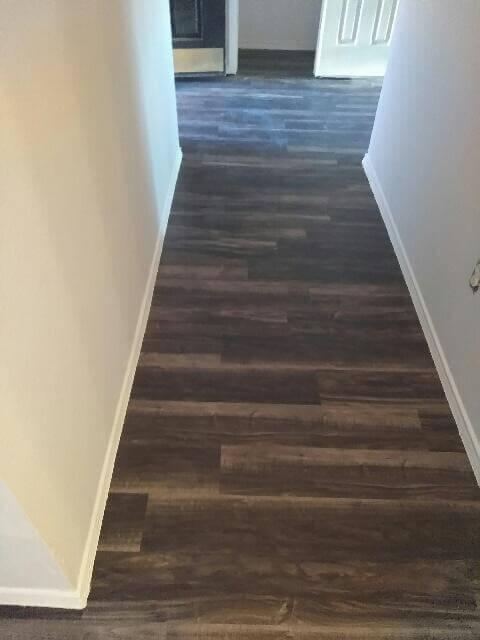 Grey Lvp Hallway