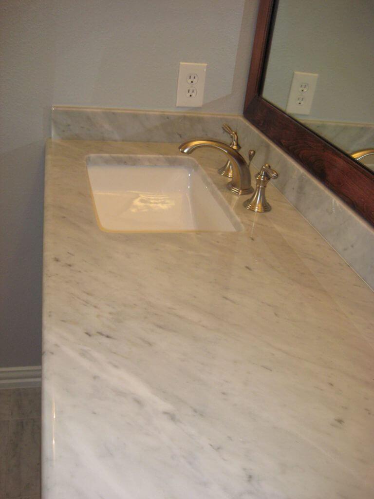 carrera marble countertop