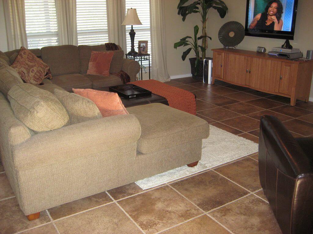 chiseled edge tile