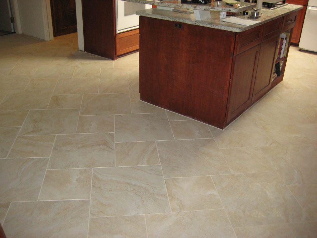 porcelain tile on a diagonal