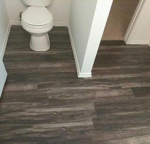 Grey Lvp Bathroom