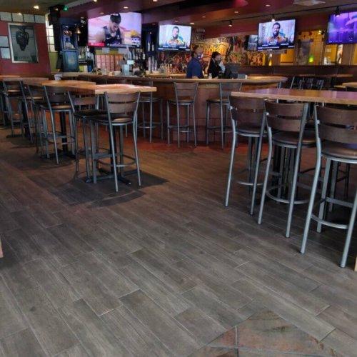 Applebees Commercial Floor Tile Arlington