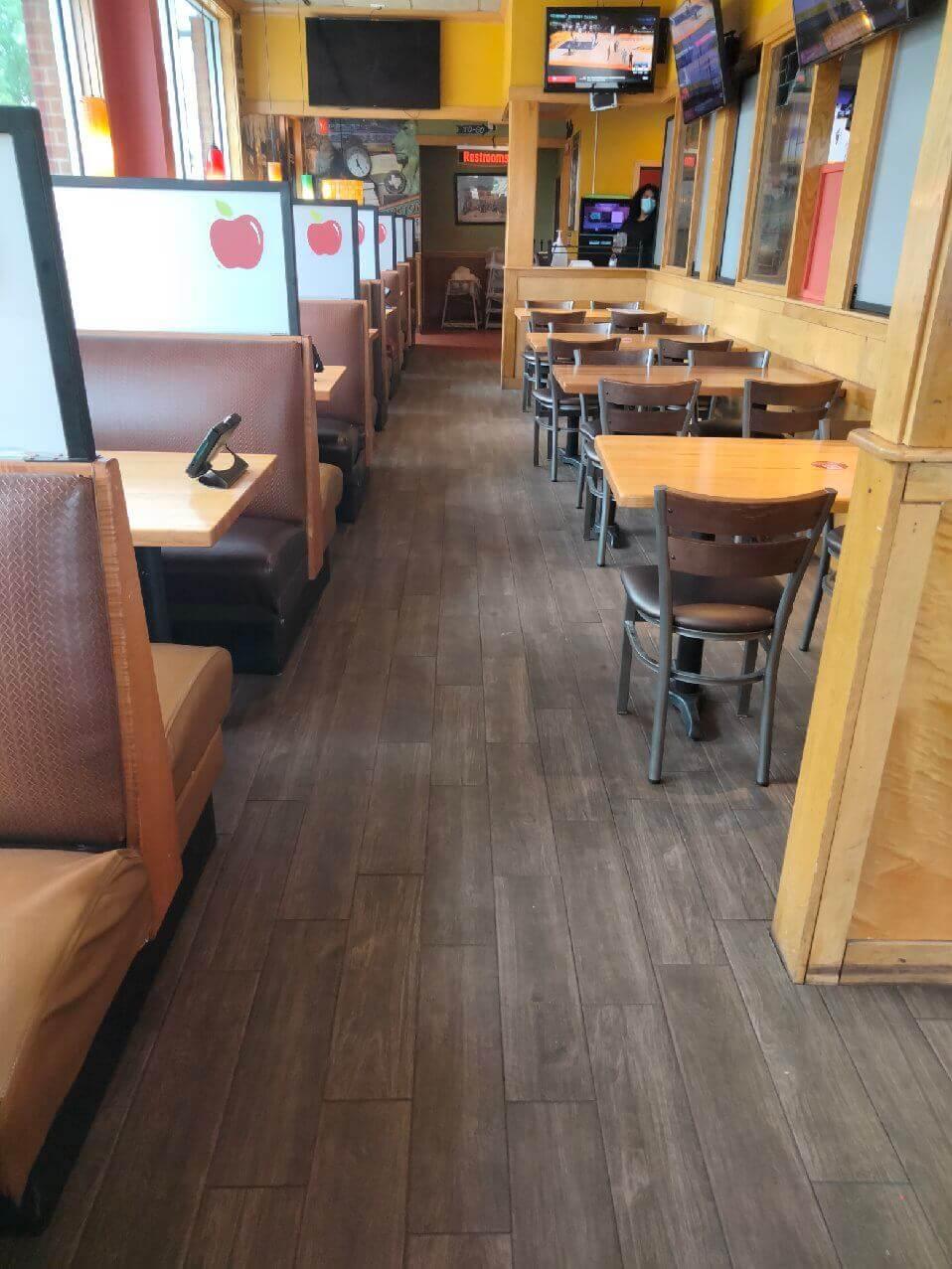 Applebees Commercial Floor Tile