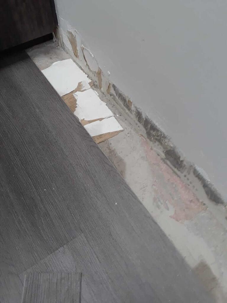 Cardboard Under Floor