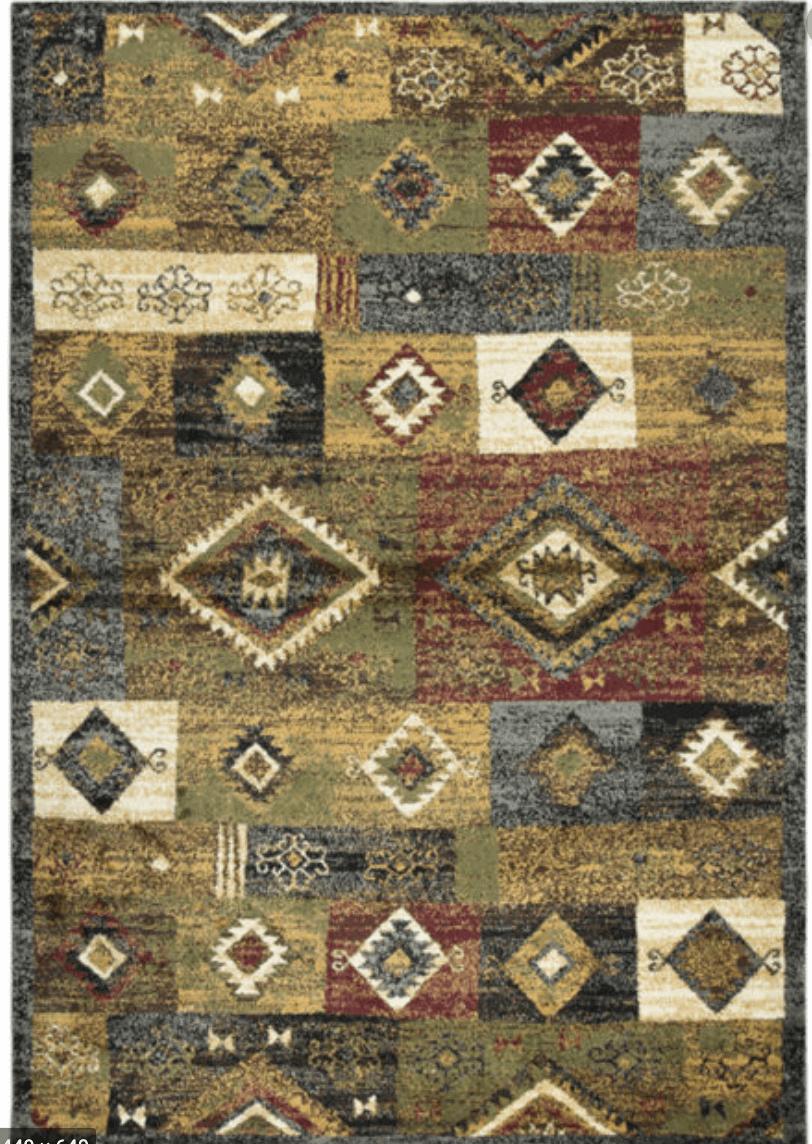 southwestern vertical rug