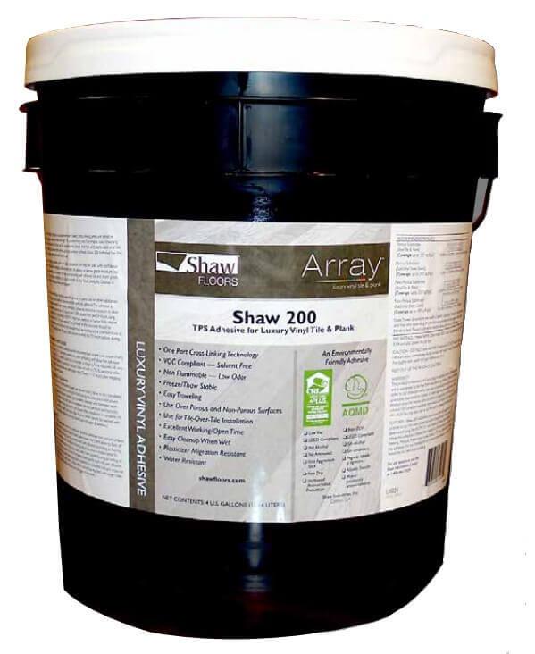 Shaw vinyl adhesive